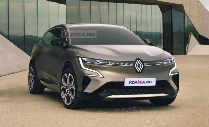 Nuova Renault Megane 2022, Rendering elettrica e SUV