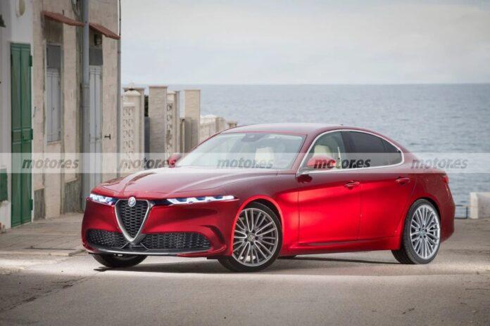 Nuova Alfa Romeo Giulia 2023, il Restyling in Rendering