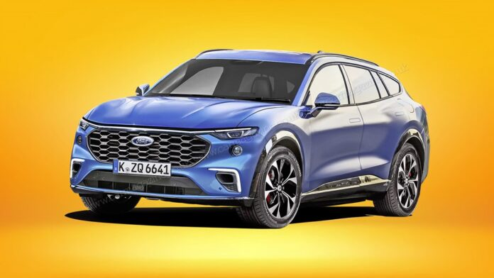 Nuova Ford Mondeo 2022, diventa SUV, i Rendering