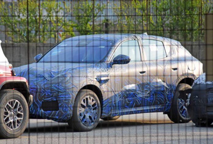 Nuova Maserati Grecale Trofeo 2022, le foto spia in Anteprima