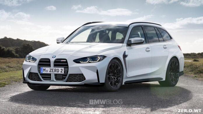 Nuova BMW M3 Touring 2022, nuovi Rendering e Dati tecnici