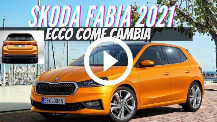 Nuova Skoda Fabia 2021, Dati Tecnici e Informazioni [VIDEO]