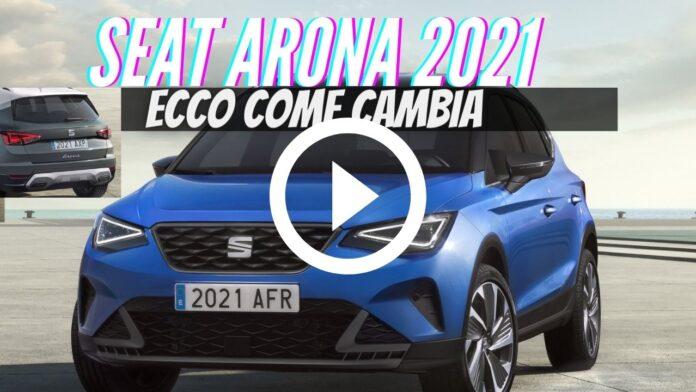 Nuova Seat Arona 2021| Restyling, Dati Tecnici [VIDEO]