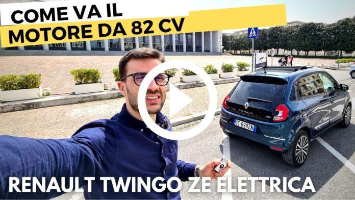 Renault Twingo ZE 82 CV FOCUS MOTORE elettrico [VIDEO]