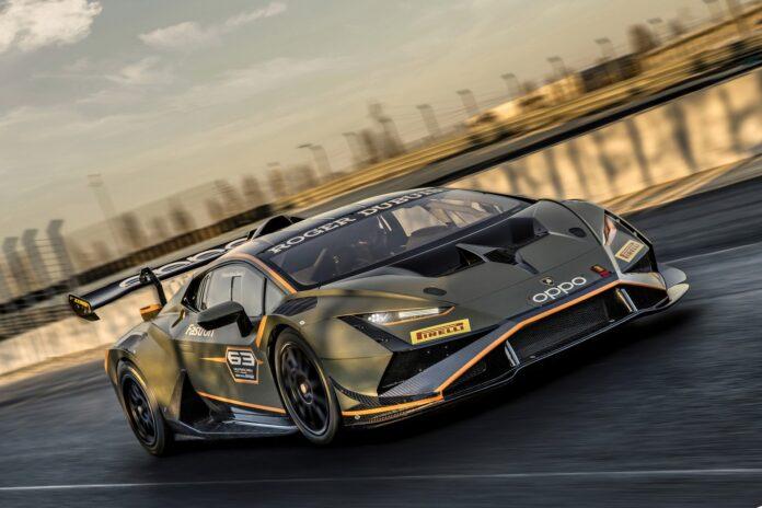 Nuova Lamborghini Huracán Super Trofeo EVO2, Motorsport estremo