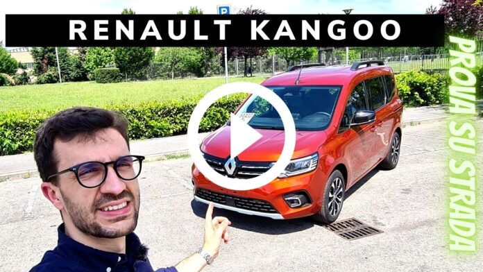 Renault Kangoo 1.5 dCi 95 CV   Prova su strada in Anteprima [VIDEO]
