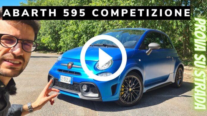 Abarth 595 Competizione 180 CV   Prova su strada [VIDEO]