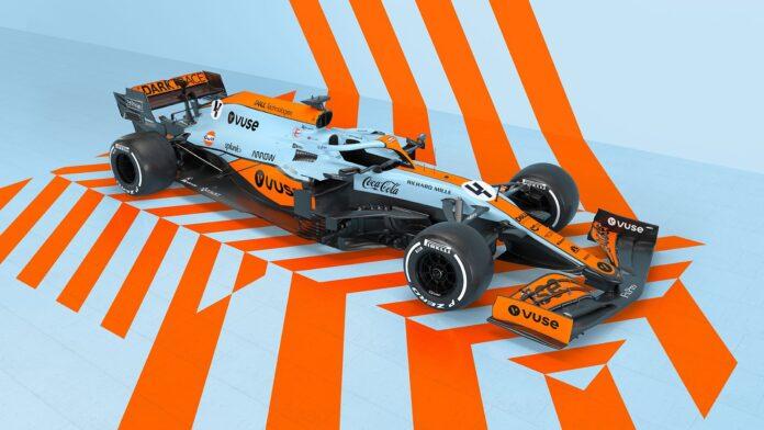 McLaren: livrea Gulf per il GP di Monaco