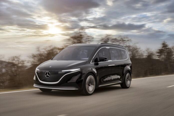 Nuovo Mercedes-Benz EQT Concept 2021, Dati tecnici e Foto