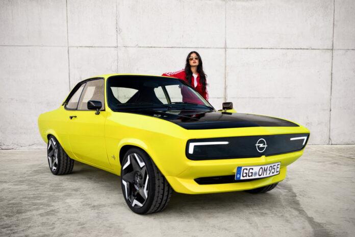 Opel Manta nel futuro elettrico del marchio