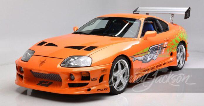 All'asta la Toyota Supra di Paul Walker in Fast and Furious