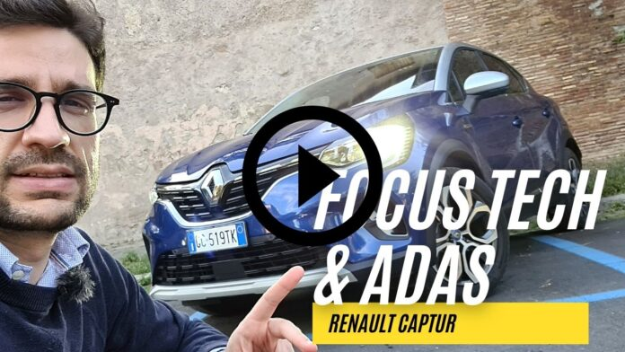 Renault Captur E-Tech Plug-in Hybrid   FOCUS TECH, & ADAS [VIDEO]