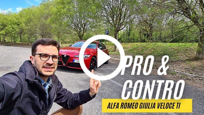PRO✔ & CONTRO❌ di Alfa Romeo Giulia Veloce Ti 280CV [VIDEO]