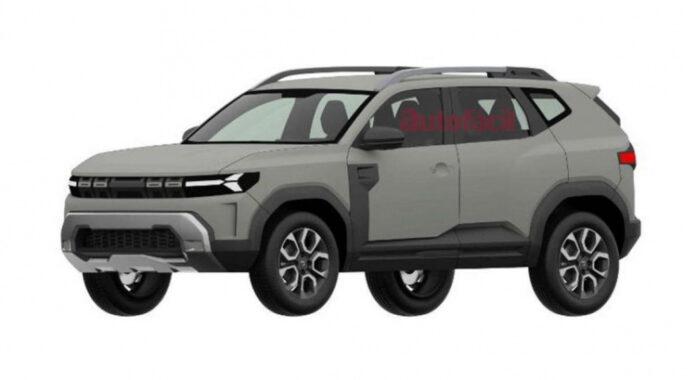 Nuova Dacia Bigster 2022, il SUV 7 posti in Rendering