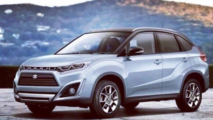 Nuova Suzuki Vitara 2022, il Rendering in Anteprima