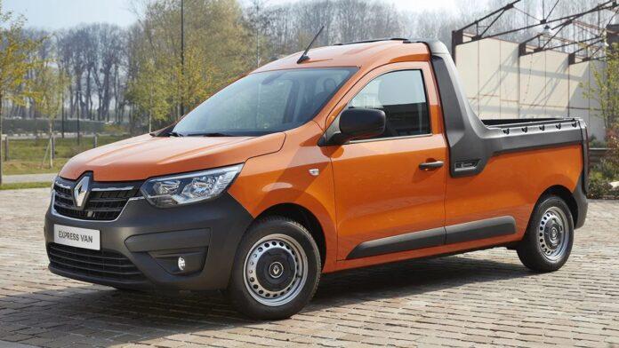 Nuovo Renault Express 2021 sfida la Dacia Duster pickup