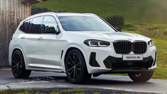 Nuova BMW X3 2021, il Restyling in Anteprima Rendering
