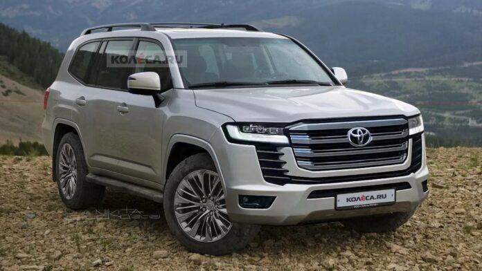Nuova Toyota Land Cruiser 2023, il Rendering definitivo