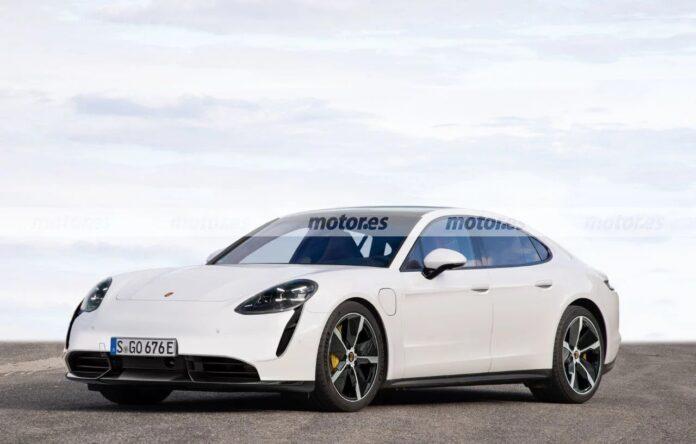 Nuova Porsche Panamera 2023, il Rendering in Anteprima