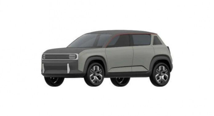 Nuova Renault 4 2023, ritorno elettrico in Rendering