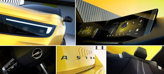 Nuova Opel Astra 2022, il Teaser ufficiale