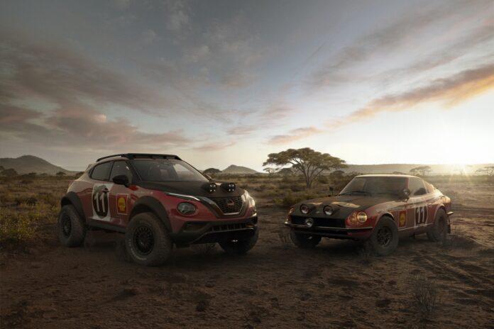 Nuova Nissan Juke Rally Tribute Concept 2022