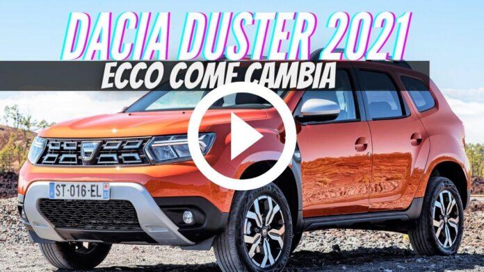 Nuova Dacia Duster 2021, Dati Tecnici e Informazioni