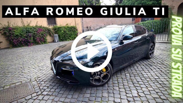 Alfa Romeo Giulia Ti 200 CV   il lusso italiano nella Prova su strada