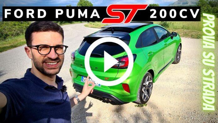 Ford Puma ST 200 CV  Video Test Drive