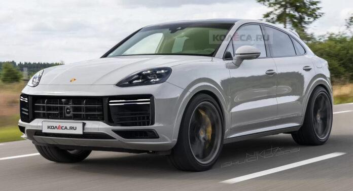 Nuova Porsche Cayenne 2022, il Restyling nel rendering