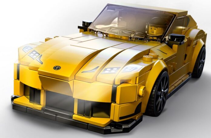 Toyota Supra GR la versione con i mattoncini LEGO
