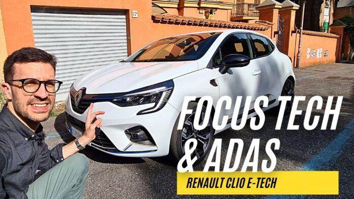 Renault Clio E-Tech140 CV   FOCUS Tech & Adas [VIDEO]
