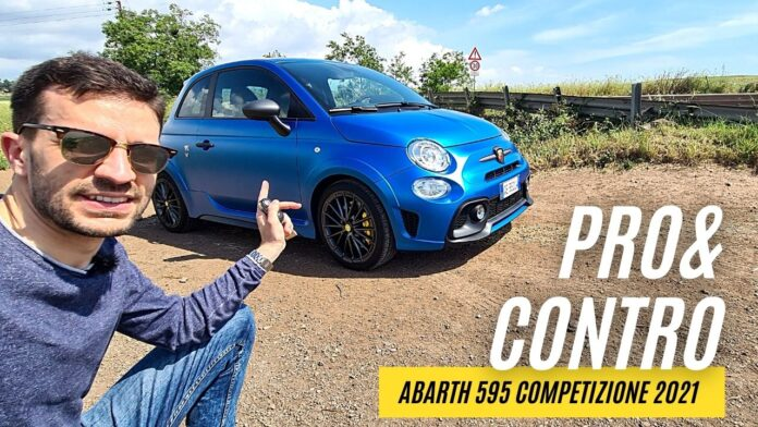 Abarth 595 Competizione 180 CV   TANTI PRO & pochi CONTRO [VIDEO]
