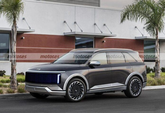 Nuova Hyundai Ioniq 7 2022, il SUV elettrico in Rendering