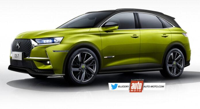 Nuova DS7 Crossback Performance 2022, il SUV sportivo in Rendering